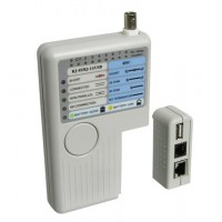 CAT NETWORK-TESTER TP/BNC/USB