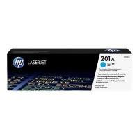 HP 201A toner LaserJet cyan authentique (CF401A) pour HP Color LaserJet Pro M252/M274/M277