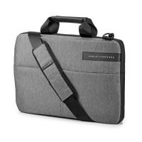 """HP Sacoche pour ordinateur portable - Signature Slim Topload - 14"""" - Noir / Gris"""
