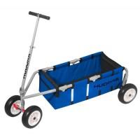 """HUDORA Chariot de Transport 10"""" Bleu"""