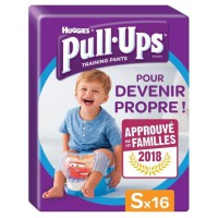 HUGGIES Pull ups Culottes d'apprentissage - Taille 4 - x16 - Garçon