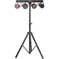 IBIZA LIGHT 15-1194 Support de lumiere avec projecteur PAR, Strobo, Moon & Laser