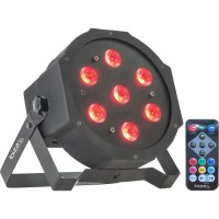 IBIZA LIGHT PARLED710 Projecteur a LED 7 x 10W RGBW 4-en-1