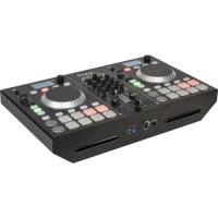 IBIZA SOUND 15-2216 Régie DJ avec table de mixage 2 canaux - Double lecteur CD & Bluetooth