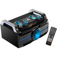 IBIZA SOUND SPLBOX100 - Enceinte Bluetooth 120W - Modes USB-SD, FM, Line-In - Noir