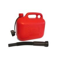 IMDIFA Jerrican Plastique Rouge pour Hydrocarbures 10L