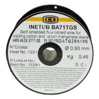 INE Bobine fil fourré pour soudure MIG/MAG sans gaz Ø fil 0,9 mm 0,45 kg