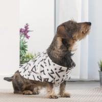 INNOVAGOODS Couverture amanches Symbols Snug Snug One Doggy - Blanc - Pour chien