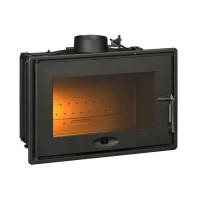 INVICTA Foyer 700 - 7 kW - Fonte - Optimisé avec volet - Bûches 53 cm - Rendement : 76 % - Flamme verte 6* - Fabriqué en FRANCE