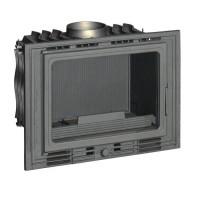 INVICTA Foyer 700 Eco en fonte - 8 kW - Bûches : 50 cm - Rendement : 75 % - Flamme Verte 6* - Classe énergie A - Fabriqué en FRA
