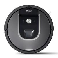 iROBOT ROOMBA 960 Aspirateur robot connecté - 58 dB - 75 min d'autonomie - Gris/Noir