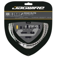 JAGWIRE Kit câble dérailleur Road Elite Link Shift - Avant, arriere, boîtier - ø extérieur 5,0 mm - Argent