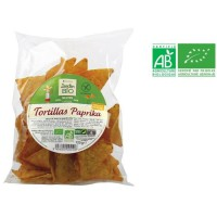 JARDIN BIO Chips tortillas paprika sans gluten bio - 25 g