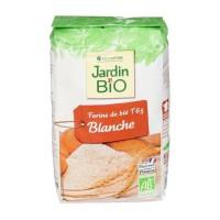 JARDIN BIO Farine de blé blanche bio - 1 kg
