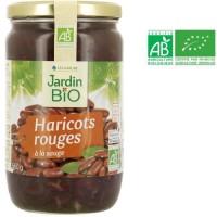 JARDIN BIO Haricots rouges bio - 660 g
