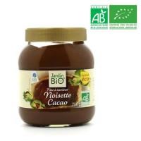 JARDIN BIO Pâte a tartiner noisette cacao bio - 750g