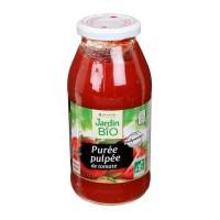 JARDIN BIO Purée pulpée de tomates bio - 510 g