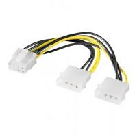 câble PC interne 2x 5,25 prise VERS 8 broches prise PCI Express
