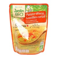 JARDIN BIO Soupe patate douce lentilles corail bio - 260 g