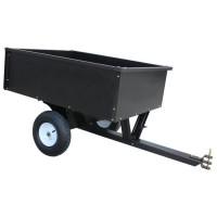 JARDIN PRATIC Remorque métal - Capacité : 180kg