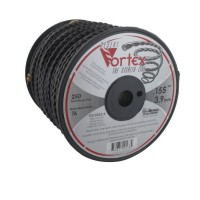 JARDIN PRATIQUE Bobine fil nylon copolymere VORTEX pour débroussailleuse - Ø 3,9 mm - L 76 m