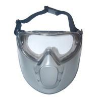 JARDIN PRATIQUE Lunettes et masque de sécurité anti-buée - En polycarbonate et acétate incolore et résistant