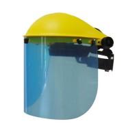 JARDIN PRATIQUE Visiere de protection professionnelle réglable - Ecran plastique polycarbonate relevable