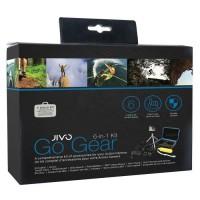 Jivo Kit d' accessoires GoGear 6-in-1 pour Action cam