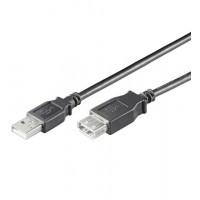 USB Verl AA 180 LC HiSpeed2.0 SCHW 1.8m