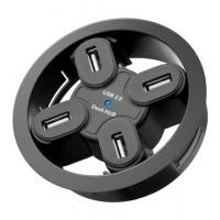 USB - HUB mounting HUB 4 Port 80mm
