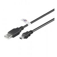 USB MINI-B 5 broches 180 Cert 1.8m