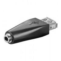 USB ADAP A-F/3.5mm-F