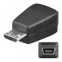 USB ADAP Micro B-M/Mini B-F