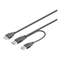 USB Verl AA 030 HiSpeed Y-Power 0.3m