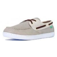 KEEP Chaussures Bateaux Benten Organic Hound Flax - Homme - Gris