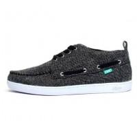 KEEP Chaussures Bateaux Boyne - Homme - Noir Suede