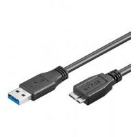 USB 3.0 Micro-B 180 SCHWARZ 1.8m
