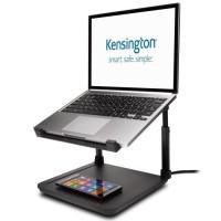 Kensington Réhausseur SmartFit pour ordinateur portable avec chargeur Qi