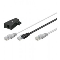 TEL DSL 3m Y Câble incl. TAE adaptor