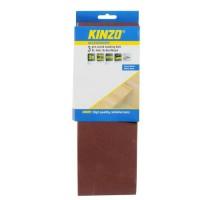 KINZO Bande abrasive bois - G120 - pieces