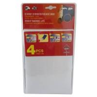 Kit de Réparation PVC 4 Pieces pour Bâche de Camion ou Remorque