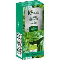 KITCHEN GARDENING Graines de basilic genovese - Bio