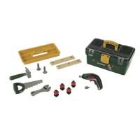 KLEIN - Caisse a outils Bosch compartimentée avec visseuse électronique Ixolino II