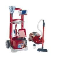 KLEIN - Chariot de ménage Vileda avec aspirateur électronique
