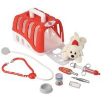 KLEIN - Mallette vétérinaire avec chien en peluche et accessoires