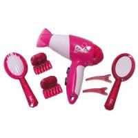 KLEIN - Set de coiffure Barbie avec seche-cheveux électronique