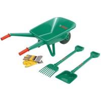 KLEIN - Set de jardinage Bosch avec brouette et accessoires