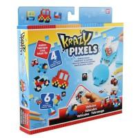 KRAZY PIXELS - Fabrique a gommes - Set de démarrage - Theme véhicules