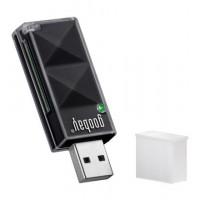 Lecteur de cartes EXT. SD / SDHC USB 2.0 NOIR