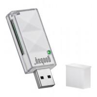Lecteur de cartes EXT. SD / SDHC USB 2.0 BLANC